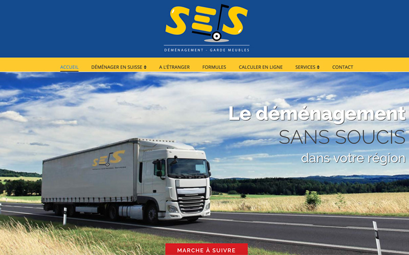 Ses d m nagement et transports chocoweb for Demenagement garde meuble