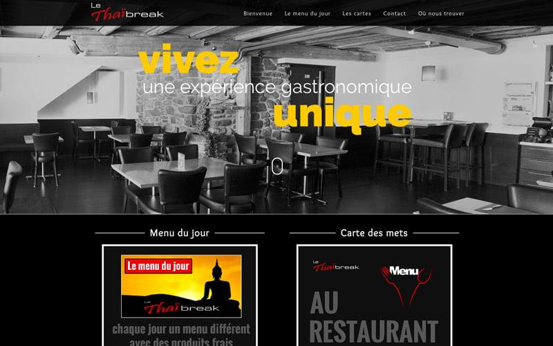 Restaurant Le Thai Break Bulle