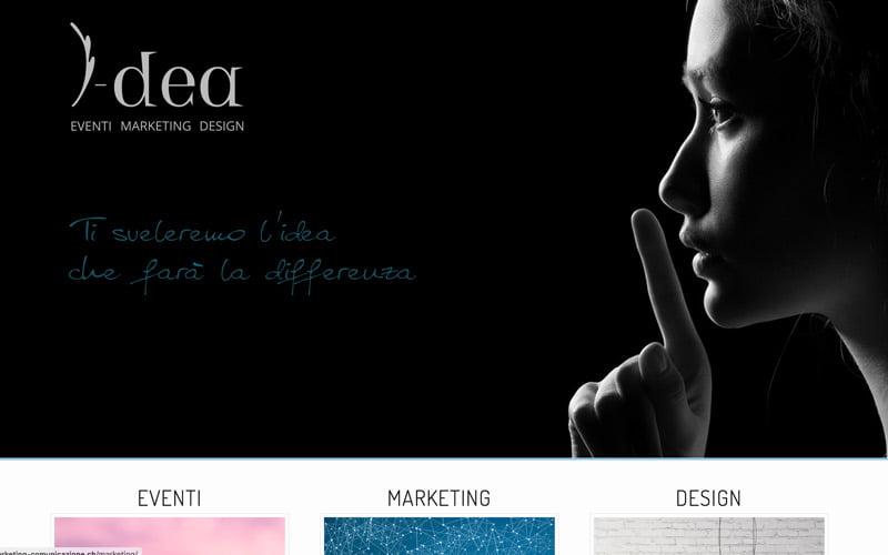 i-dea events marketing design
