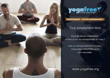 YOGAFREE: Le Yoga pour Tous rémunéré librement